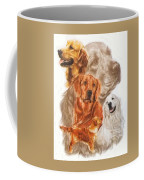 Golden Retriever W/ghost Coffee Mug