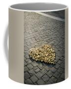 Golden Rocky Love Coffee Mug by Mary Lee Dereske