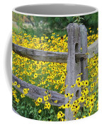Golden-rod  Crowd Out Coffee Mug