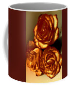 Golden Roses 3 Coffee Mug