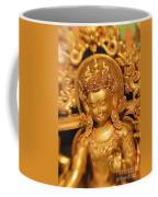 Golden Sculpture Coffee Mug