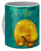 Golden Shell Coffee Mug
