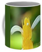 Golden Shrimp Plant Coffee Mug