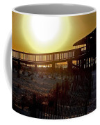 Golden Slats Coffee Mug