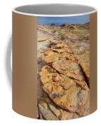 Golden Slopes Of Valley Of Fire State Park Coffee Mug