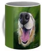 Golden Smile Coffee Mug