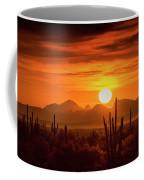 Golden Southwest Sunset  Coffee Mug