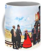 Golden Spike Railroad - Wating - 0749 G Coffee Mug