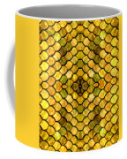 Golden Stained Glass Coffee Mug