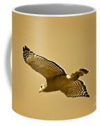 Golden Sunlight On Hawk Coffee Mug
