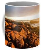 Golden Sunset Coast Coffee Mug