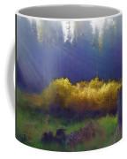 Golden Surprise Coffee Mug