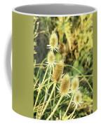 Golden Thistles Sextet Coffee Mug