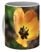 Golden Tulip Petals Coffee Mug