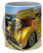 Golden Vintage Dodge Coffee Mug