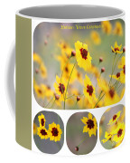 Golden Wave Collage Coffee Mug