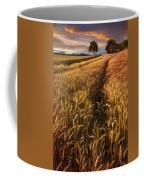 Golden Waves Of Grain Coffee Mug