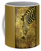 Golden Zebra  Coffee Mug