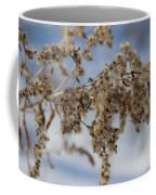 Goldenrod In The Snow Coffee Mug
