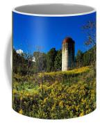 Goldenrod Surrounded Silo Coffee Mug