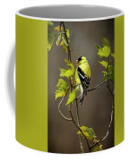 Goldfinch Suspended In Song Coffee Mug
