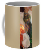 Goldfish Coffee Mug by Gustav Klimt
