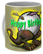 Golf A Saurus Birthday Coffee Mug