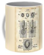 Golf Ball Patent 1902 - Vintage Coffee Mug