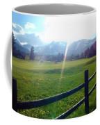 Golf Course Sun Rays Coffee Mug