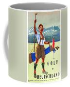Golf In Deutchland Coffee Mug