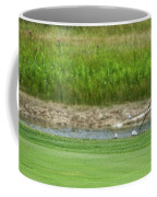 Golfing Chipping The Ball In Flight Coffee Mug