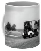 Golfing Golf Cart 06 Bw Coffee Mug