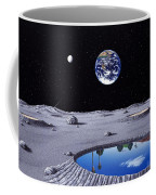 Golfing On The Moon Coffee Mug