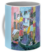 Gondola In A Venetian Canal Coffee Mug
