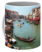 Gondola On The Grand Canal Coffee Mug