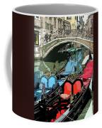 Gondolas Fresco  Coffee Mug