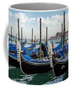 Gondolas On The Grand Canal Coffee Mug