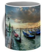 Gondolas Parked For The Evening Coffee Mug
