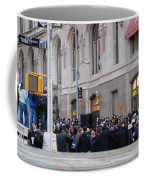Good Friday On Trinity Place Coffee Mug by Rob Hans