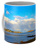 Good Harbor Clouds And Sun Coffee Mug