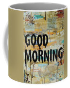 Good Morning Coffee Collage 9x12 Coffee Mug