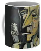 Goodnight And Good Luck Coffee Mug