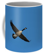 Goose In Flight Coffee Mug