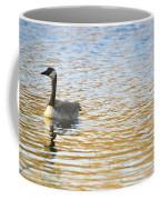 Goose On The Pond Coffee Mug