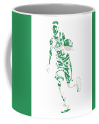 Gordon Hayward Boston Celtics Pixel Art 10 Coffee Mug