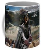 Gordon Setter Art Canvas Print - Philip Iv Hunting Wild Boar  Coffee Mug