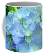 Gorgeous Blue Colorful Floral Art Hydrangea Flowers Baslee Troutman Coffee Mug