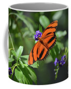 Gorgeous Close Up Of An Oak Tiger Butterfly In Nature Coffee Mug