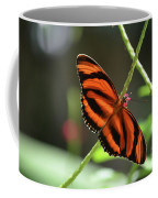 Gorgeous Orange And Black Oak Tiger Butterfly Coffee Mug