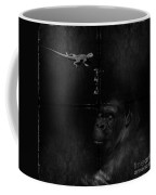 Gorilla And Lizard Coffee Mug